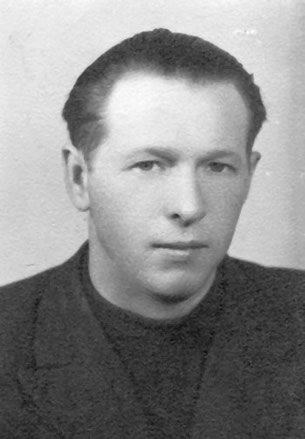 Władysław Hladny, Polish secret police, the UB, assigned to the Nowy Sącz County PUBP office. One of the murderers of PSL activists: Dr. Szczepan Niedźwiedź, and Józef Górowski.